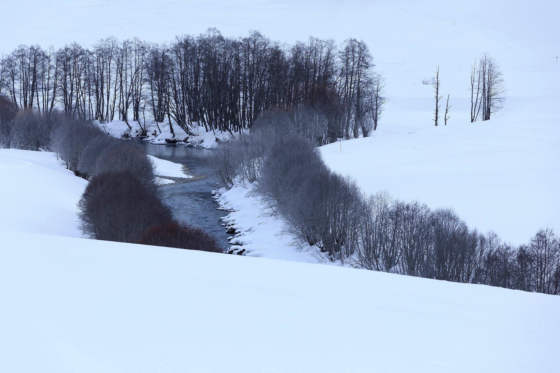 Le fleuve Rhône, Km 18 Canton du Valais, Reckingen