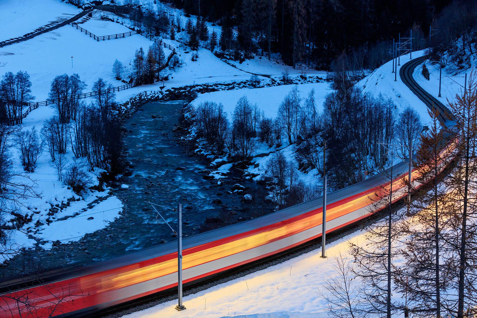 Le fleuve Rhône, Km 23 Canton du Valais, Blitzingen